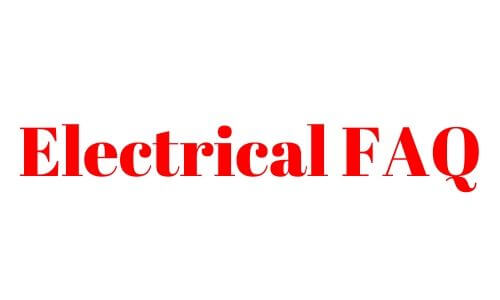 faq Electrical Connections